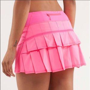 Lululemon Pace Setter 8R Skirt Hot Pink